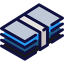 Business, Money, banking, Business And Finance, Cash, Currency, Bank, finances MidnightBlue icon