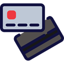 Money, Bank, Credit cards, banking, Business MidnightBlue icon
