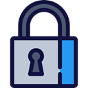 keyhole, Business And Finance, locked, Lock, secure, security MidnightBlue icon