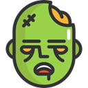fear, Avatar, halloween, horror, zombie, Terror, spooky, scary YellowGreen icon