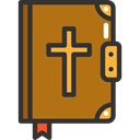 Christianity, religion, christian, Bible, Cultures, Book, education DarkGoldenrod icon