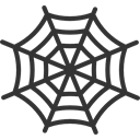 insect, halloween, Animals, cobweb, Spider Web, Trap DarkSlateGray icon