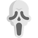 Avatar, halloween, scream, horror, Frightening, Terror, spooky, scary, Fright Gainsboro icon