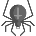 insect, spider, Animals, Arachnid, Animal Kingdom DarkSlateGray icon