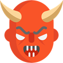 Avatar, Devil, halloween, horror, Terror, spooky, scary, fear Tomato icon