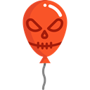 party, Balloon, balloons, halloween, decoration, Celebration Black icon
