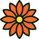 Flower, nature, petals, blossom, Botanical Tomato icon
