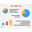 Seo And Web, Data Analytics, Pie Graphic, Business And Finance, chart, Analytics, Analysis WhiteSmoke icon