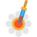 Edit Tools, pipette, lab, Tools And Utensils, Volumetric, science, Chemistry Gainsboro icon