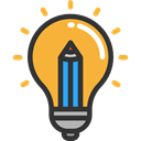 Light bulb, Idea, Seo And Web, electricity, illumination, technology, invention Black icon