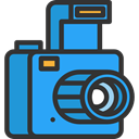 photograph, photo camera, Seo And Web, picture, interface, digital, technology DodgerBlue icon