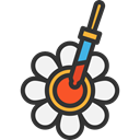 science, Volumetric, Edit Tools, Chemistry, pipette, lab, Tools And Utensils Black icon
