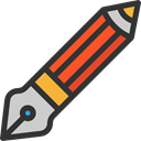 Edit, pencil, settings, Draw, writing, Tools And Utensils, Seo And Web Black icon
