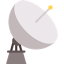 signal, antenna, technology, Parabolic, Wireless Connectivity, Satellites Lavender icon