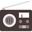 Radios, Radio Antenna, News, technology, Transistor DarkSlateGray icon