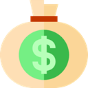 banking, money bag, Dollar Symbol, Business And Finance, Business, Money, Currency, Bank Moccasin icon
