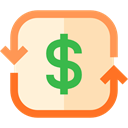 finances, Dollar Symbol, Business And Finance, Book, Business, economy PapayaWhip icon