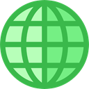 global, planet, Multimedia, translation, languages, Earth Grid, Worlwide, World Grid, Business And Finance, Seo And Web LimeGreen icon