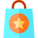 Bag, shopping bag, Supermarket, Shopper, Business And Finance, Business, commerce, shopping Aquamarine icon