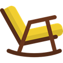 Chair, swing, Chairs, Rocking Chair, Furniture And Household, sitting, livingroom, Hammock SaddleBrown icon
