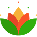 oriental, sports, hinduism, Cultures, Yoga, lotus, meditation, Chakra ForestGreen icon