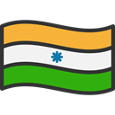 world, flag, India, flags, Country, Nation DarkSlateGray icon