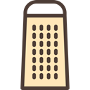 food, Cheese, kitchen, utensil, Tools And Utensils, Grater, Food And Restaurant Moccasin icon