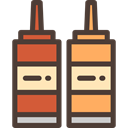 Condiment, Sauces, Food And Restaurant, food, Mustard, ketchup, Spicy DarkSlateGray icon