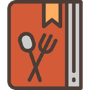 Cooking, ingredients, Food And Restaurant, Book, food, Cook, kitchen, Ingredient, Recipe Chocolate icon