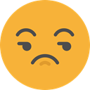 Angry, emoticons, Arrogant, Emoji, feelings, Smileys, Vain Goldenrod icon