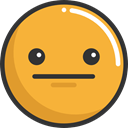 Confused, emoticons, Emoji, feelings, Smileys Goldenrod icon
