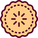 pie, food, Dessert, sweet, Bakery, Food And Restaurant Khaki icon