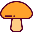 nature, Fungi, Muscaria, Food And Restaurant, food, Mushroom Goldenrod icon
