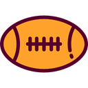 team, equipment, sports, American football, Team Sport, Sports And Competition Goldenrod icon