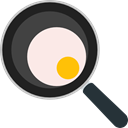 Gastronomy, Food And Restaurant, Cooking, nutrition, fried egg, Frying Pan Black icon