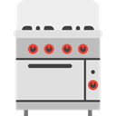 Cooking, Stove, kitchenware, Furniture And Household, Gas, technology, kitchen Gainsboro icon