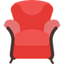 furniture, sofa, Armchair, livingroom, Comfortable, Furniture And Household Crimson icon