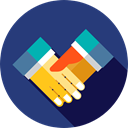 Agreement, deal, Handshake, Gestures, Business And Finance, Hands And Gestures DarkSlateBlue icon