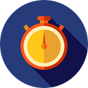time, miscellaneous, stopwatch, timer, Tools And Utensils, Seo And Web, interface, Chronometer, Wait DarkSlateBlue icon