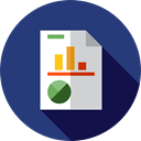 Business, Stats, Analytics, Seo And Web, statistics, Bar chart, Profits DarkSlateBlue icon