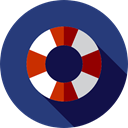 security, help, lifeguard, lifebuoy, Floating, Lifesaver DarkSlateBlue icon