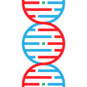 medical, education, Biology, dna, Deoxyribonucleic Acid, Dna Structure, Genetical, Healthcare And Medical, science Black icon