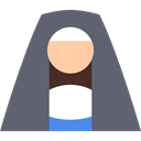 people, Christianity, religion, christian, religious, sister, Cultures DimGray icon