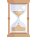 time, timer, waiting, clocks, Sand Clock Black icon