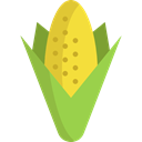 Healthy Food, Food And Restaurant, vegetarian, Cereal, vegan, corn, food, organic, diet Black icon
