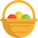 food, organic, eggs, protein, fried egg, Boiled Egg, Food And Restaurant Goldenrod icon
