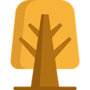 Tree, nature, garden, Botanical Goldenrod icon