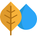 Leaf, nature, season, autumn, fall, Botanical Goldenrod icon