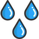 Teardrop, raindrop, weather, Rain, drop, water Icon