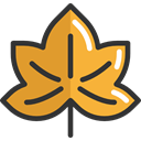 plant, Leaf, nature, halloween, garden, maple leaf, Botanical Goldenrod icon